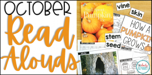 October Read Alouds for Kindergarten