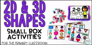2D 3D shapes