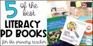 Literacy PD Books