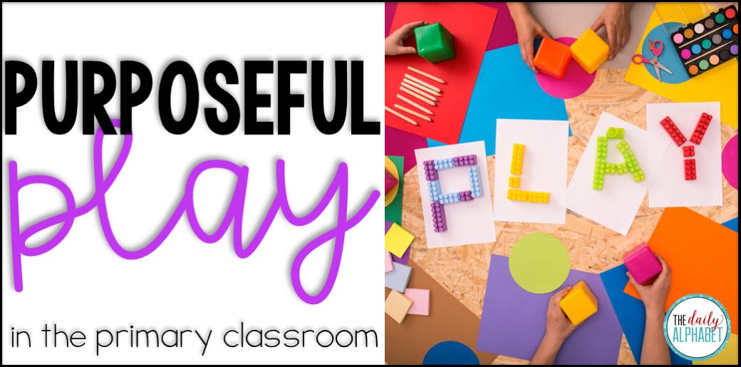 Play in the kindergarten classroom