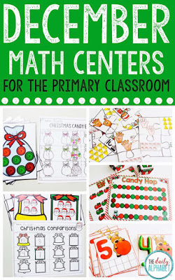 December math centers is great for math workshop/centers in your classroom! It focuses on those early math skills that our students need to develop. Your students will be able to practice subtilizing, 1:1 correspondence, estimation, comparing numbers and more!