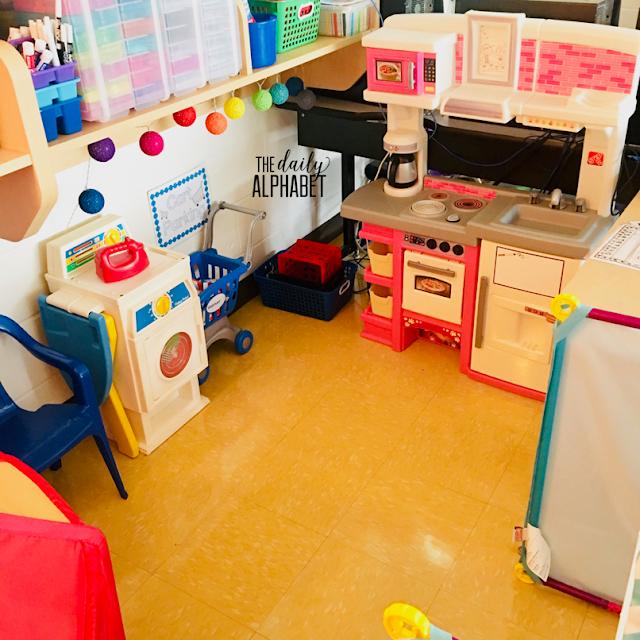 Kitchen in Kindergarten