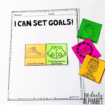 I can set goals!