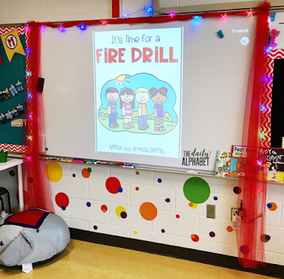 Classroom safety drills and procedures are important skills to practice during the first few weeks of school. Fire drills, tornado drills, lockdown drills, and earthquake drills and their alarms can be extremely loud & scary for little ones. This pack contains easy to implement activities and read alouds to make it so much easier!