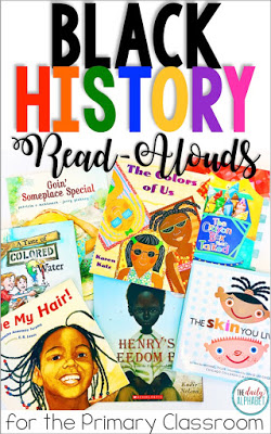 Read alouds are a great way to encourage discussions on black history and diversity throughout the year!
